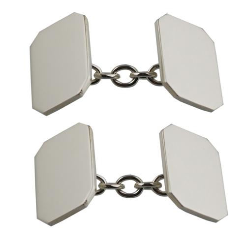 pure oil perfume: Chain Cufflinks