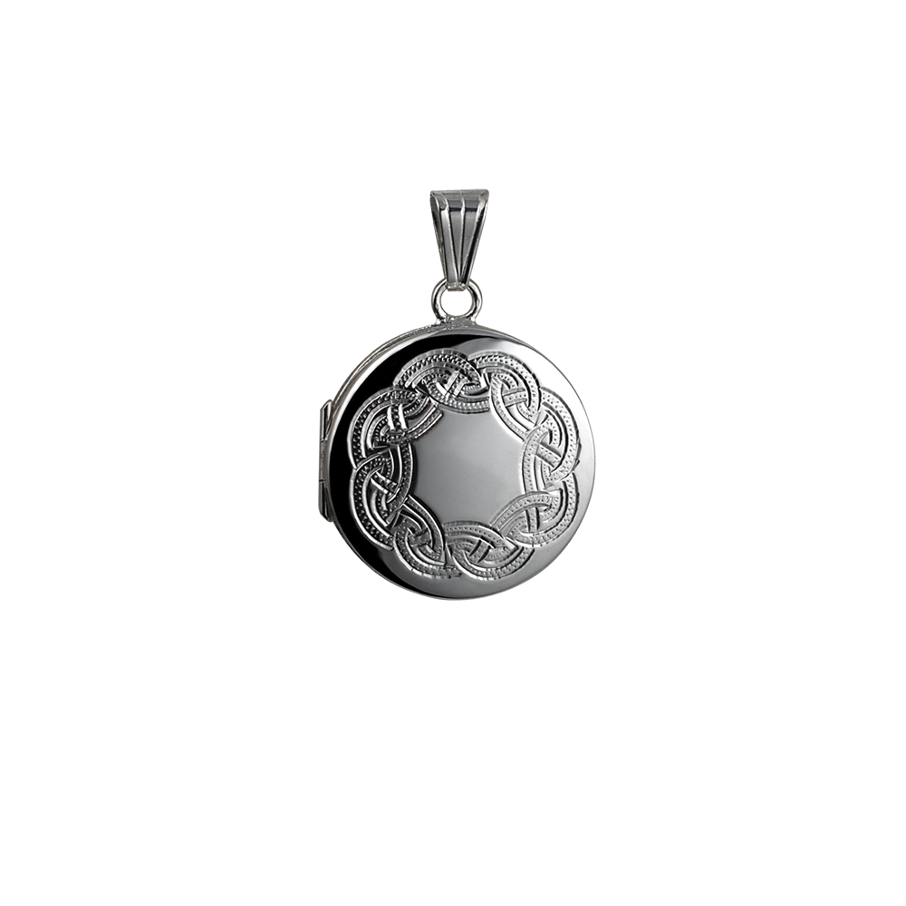 irish necklace bridesmaid jewelry wedding locket style gift vintage silver pin celtic lockets knot